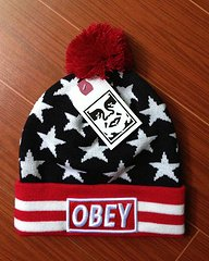 Amazon.com: Obey Full of Stars Beanie: Sports & Outdoors