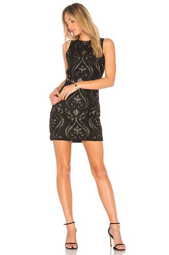 dress beaded dress sleeveless beaded black