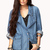 Statement Making Chambray Jacket | FOREVER 21 - 2054939778