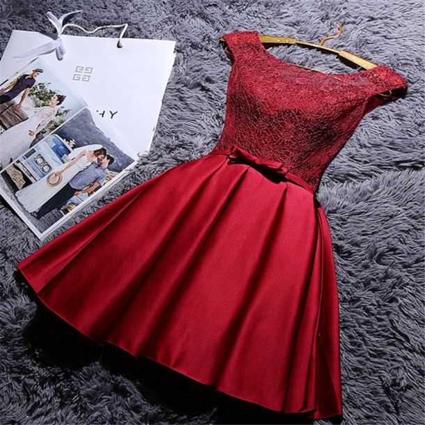 73e5b0295b1 dress red dress red prom dress prom dress short prom dress lace dress red lace  dress