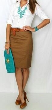 skirt,pencil skirt,beige skirt