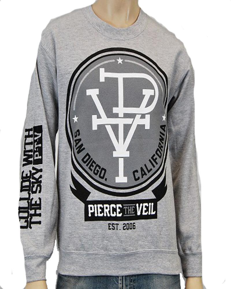Pierce The Veil Collide Crewneck Sweatshirt Hoodie New s M L XL Authentic | eBay