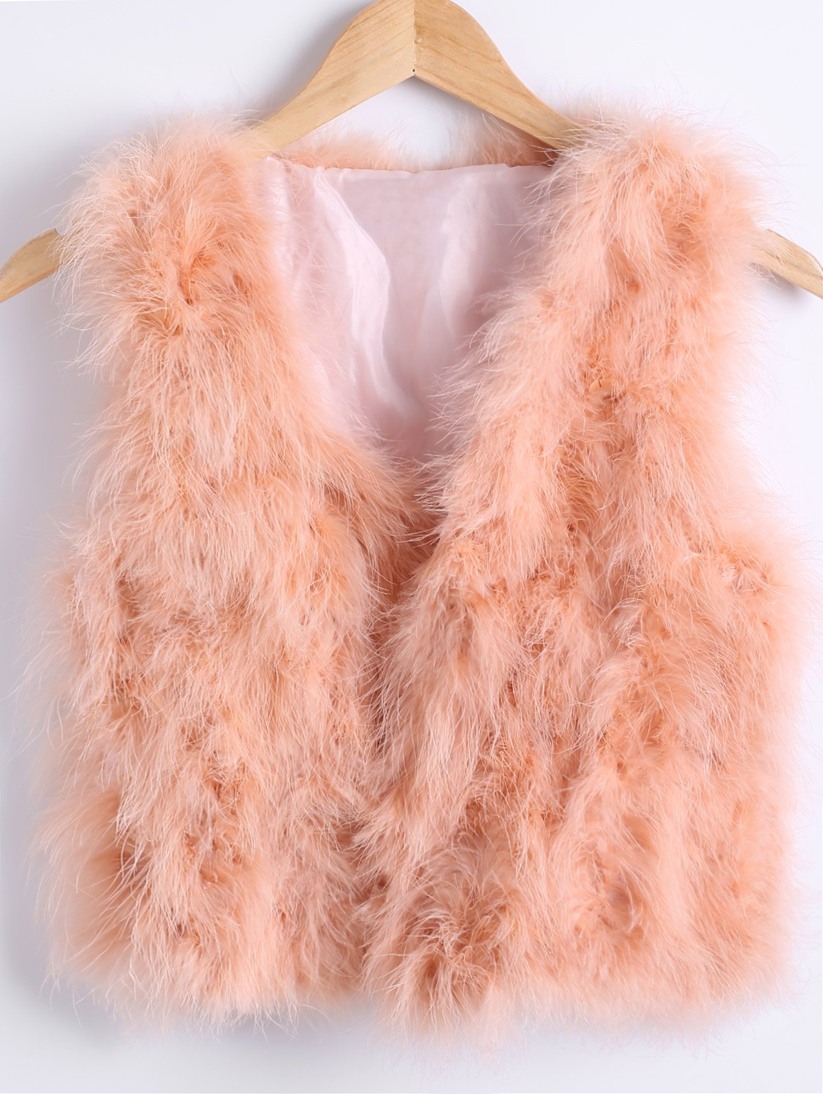 Short Faux Fur Vest
