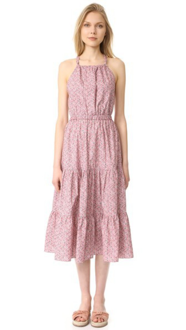 La Vie Rebecca Taylor Meadow Flower Dress in rose