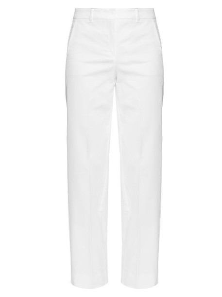 S MAX MARA Carena trousers in white