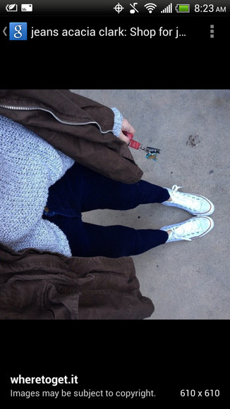acacia brinley jacket fall sweater fall jacket skinny jeans converse converse high tops cargo jacket layered winter outfits winter sweater winter jacket