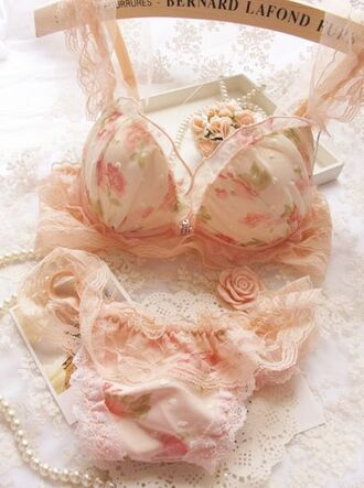 underwear lingerie lingerie set girly bra and underwear