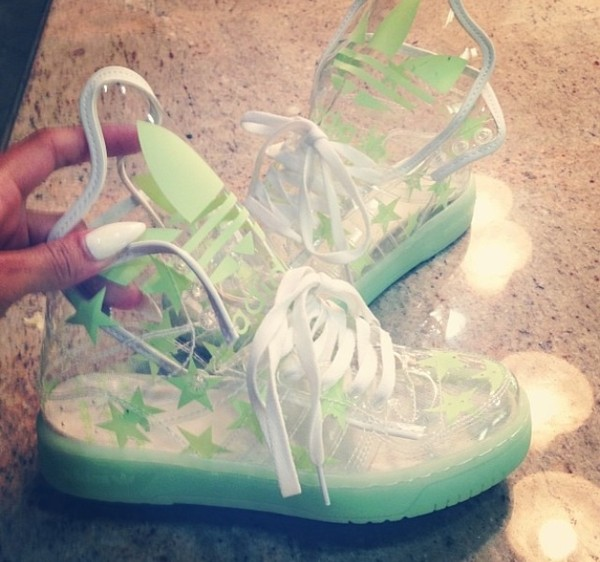 shoes adidas trainers glow in the dark