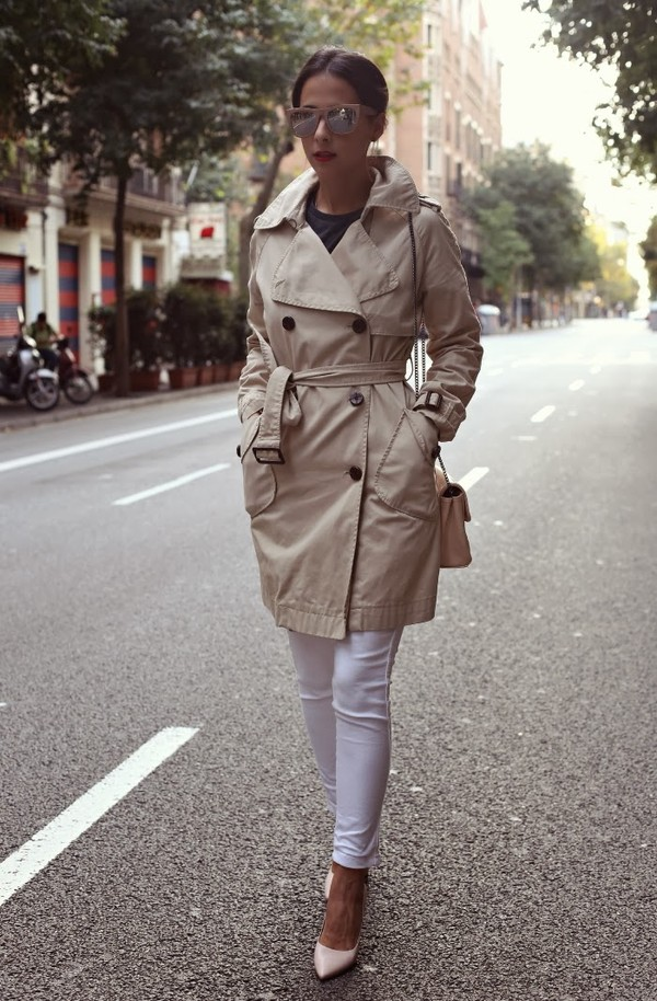 style in lima coat jeans t-shirt bag shoes sunglasses jewels
