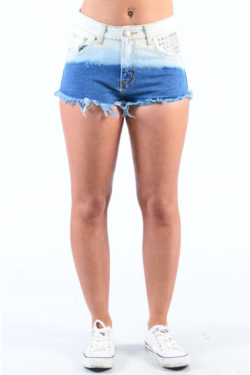 Jensine Dip Dye Shorts