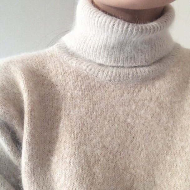 Sweater: high neck, turtleneck, sweatshirt, winter outfits ...