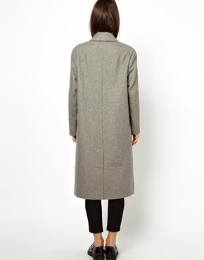 ASOS | ASOS Oversized Wrap Front Coat at ASOS