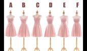 dress,bridesmaid,short bridesmaid dress,chiffon bridesmaid dress,different styles bridesmaid dress,blush pink bridesmaid dress,mssu