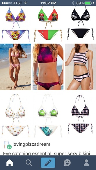 swimwear tie dye cute crop tops summer fushia tie dye swimwear summer outfits