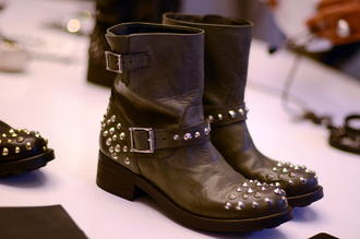chiara black boots shoes