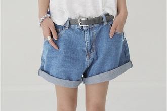 jeans denim denim shorts oversized shorts