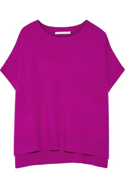 Diane Von Furstenberg sweater plum