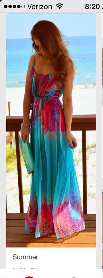 dress sundress maxi dress summer dress style