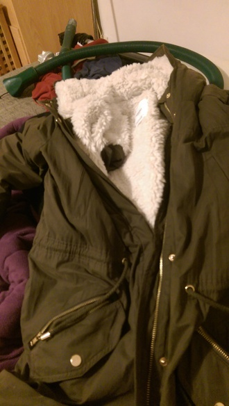 jacket parka army green jacket
