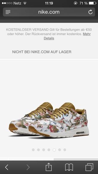shoes nike nike air max 1 floral city milan air max