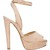 Louloudance 140mm suede platform sandals
