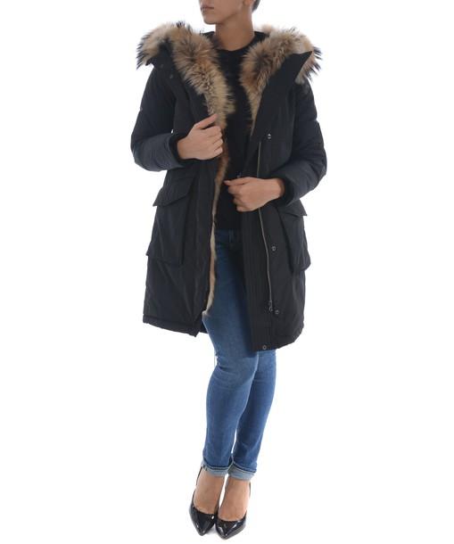 Woolrich parka fur coat