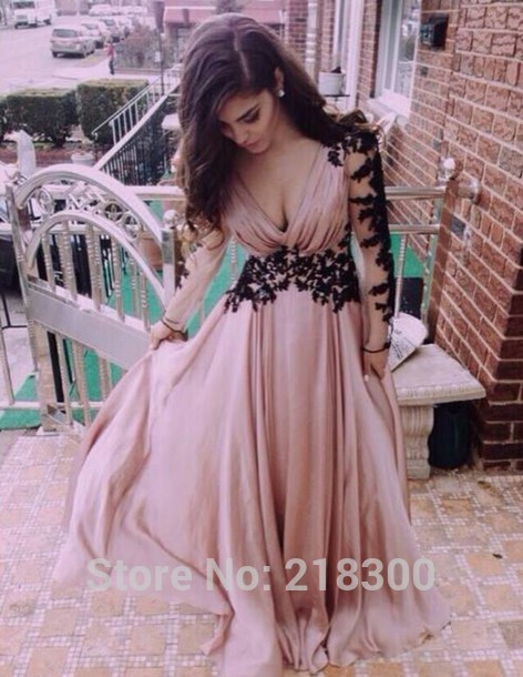 Aliexpress.com : buy long sleeves illusion prom dresses beaded pageant dresses champange evening dresses from reliable prom dresses suppliers on mypromdresses