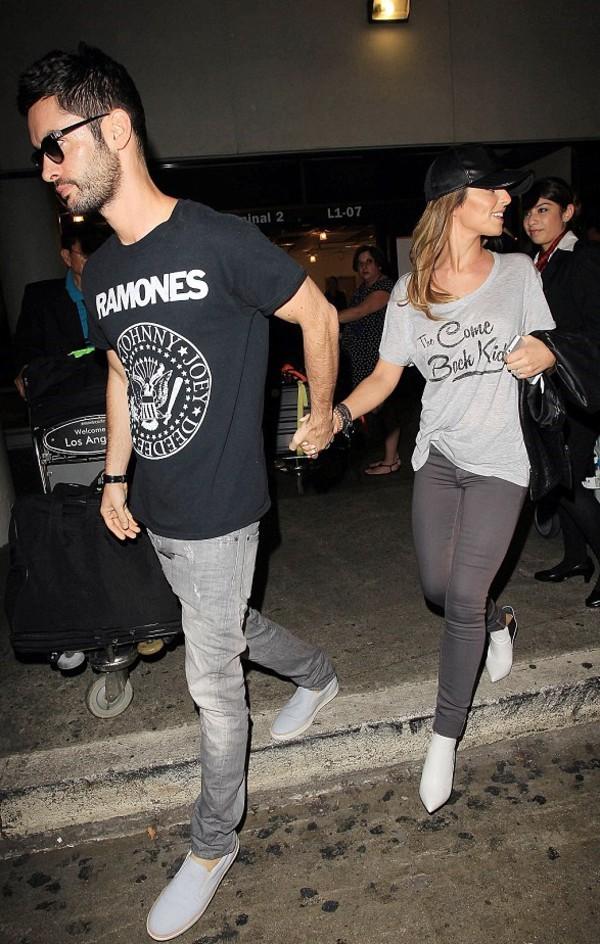 top boots cheryl cole mens t-shirt boyfriend cheryl fernandez t-shirt menswear casual