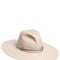 Wide brimmed felt hat