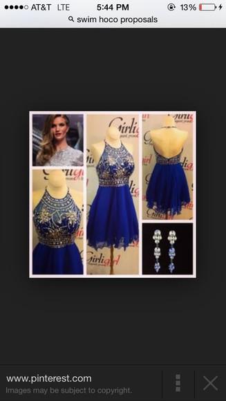 prom dress blue dress formal dress blue prom dresses blue gold gold sequins
