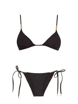 bikini triangle bikini triangle black swimwear