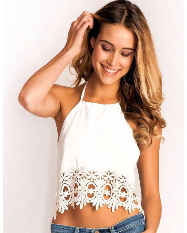top white white top helpasap fashion summer girly cute pretty