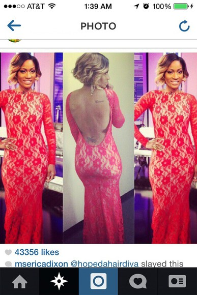 lace dress prom dress long prom dress long sleeve dress celebrity dresses fitted dress fashion