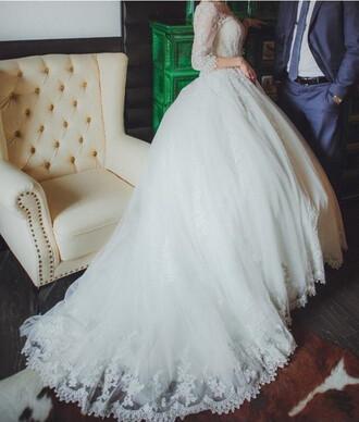 dress wedding gown wedding dress lace wedding dress bridal gown long sleeve wedding dress princess wedding dresses bride dresses