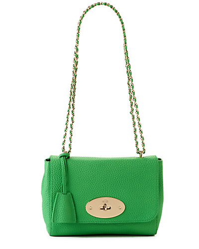 "Rue La La - Mulberry ""Lily"" Soft Grain Leather Shoulder Bag"
