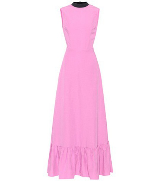 dress long pink