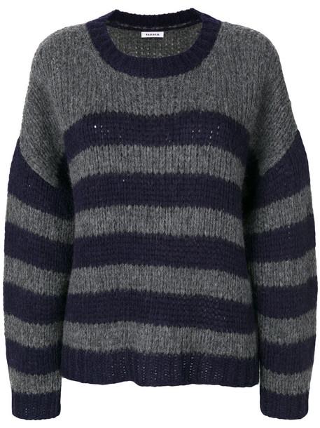 P.A.R.O.S.H. jumper women wool grey sweater