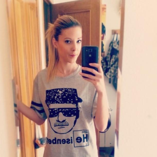 shirt heisenberg Breaking Bad girl fashion Walter White