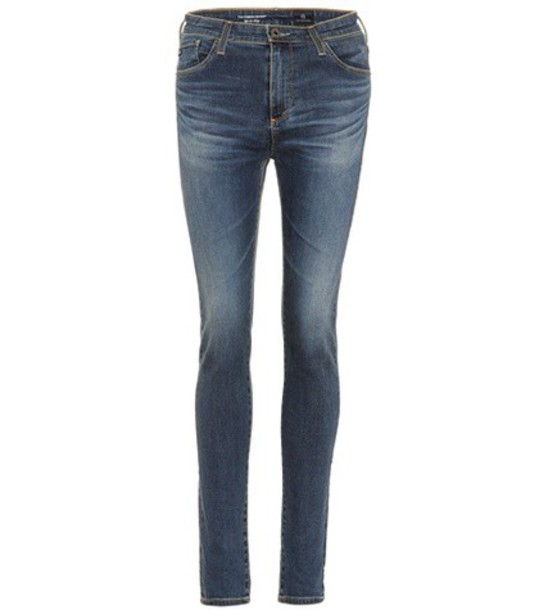 ag jeans jeans skinny jeans high blue