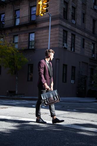 scout sixteen menswear blogger mens jacket satchel bag