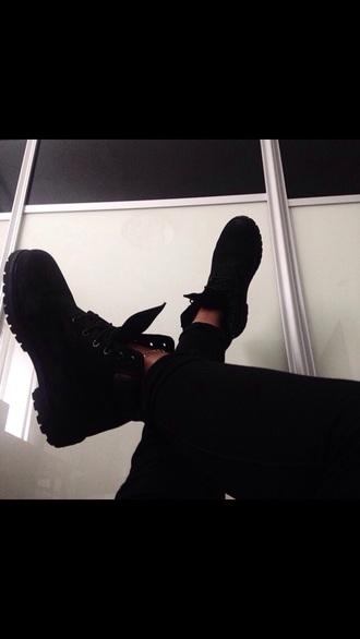 shoes boots black boots black