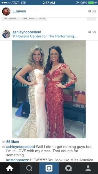dress red prom teen fashion