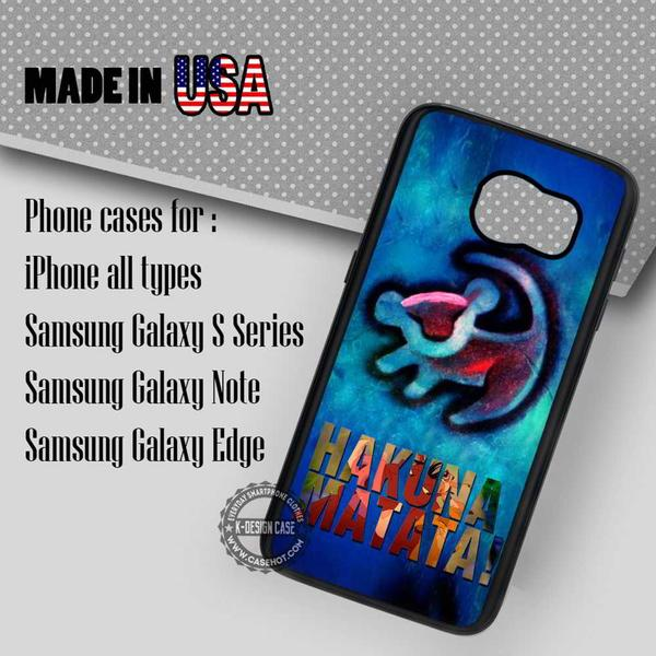 Samsung S7 Case - Tattoo Simba Hakuna Matata- iPhone Case #SamsungS7Case #Thelionking #yn