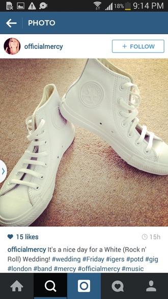 shoes converse white unique cool rare