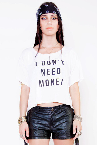 Money Needs Me Tee