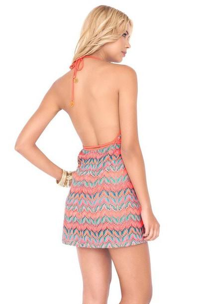 dress mini dress luli fama print bikiniluxe