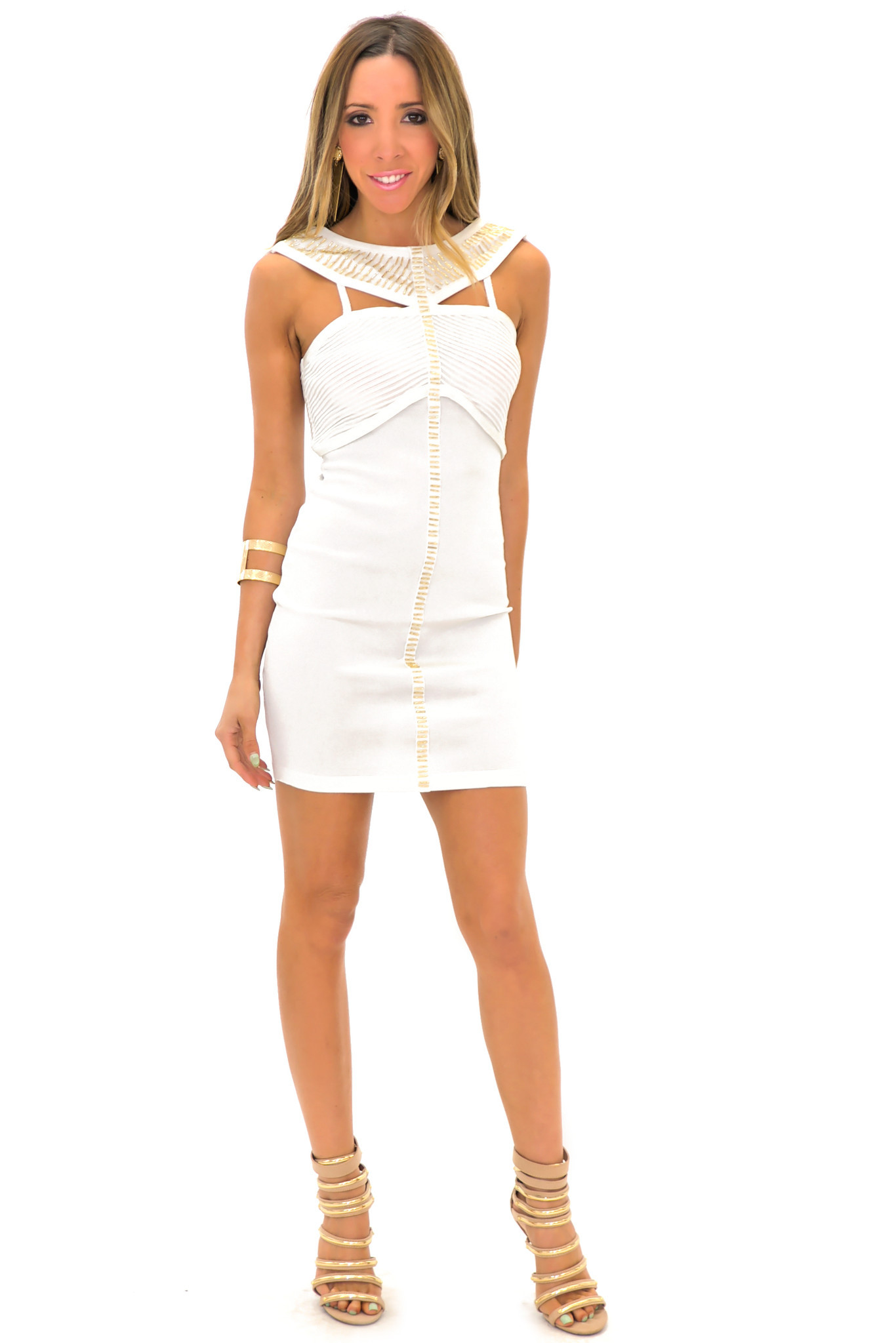SASHA BANDAGE BODYCON DRESS | Haute & Rebellious