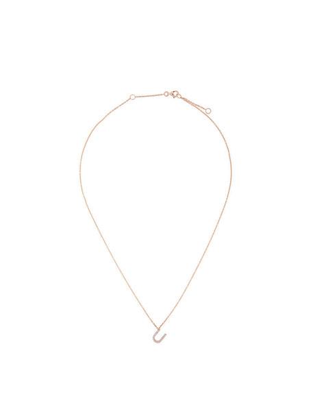 rose gold rose women necklace diamond necklace gold grey metallic jewels