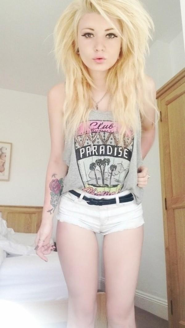 Shirt Hipster Pink Clothes Grey Wheretoget