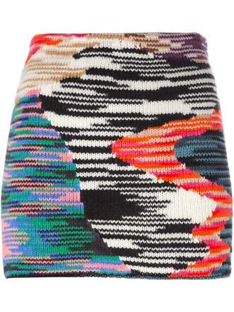 skirt knit black